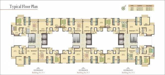 Vihang Valley Cluster Plan