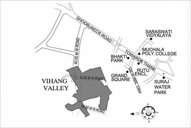 Vihang Valley Location Plan