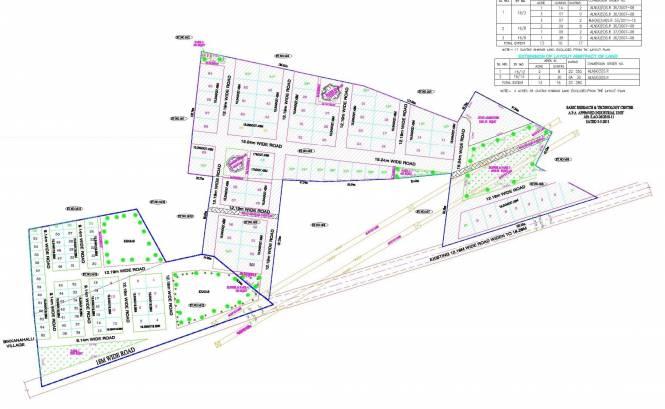 Suraj Trinity Greens Layout Plan