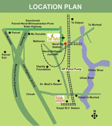 Tulsi Aangan Location Plan