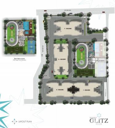 Goel Ganga Glitz Layout Plan