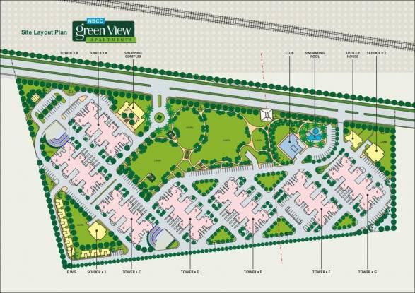 NBCC Green View Layout Plan