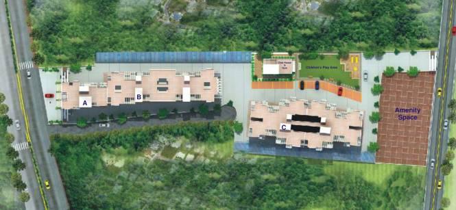 Vijayalaxmi Laxmisatyam Residency Layout Plan