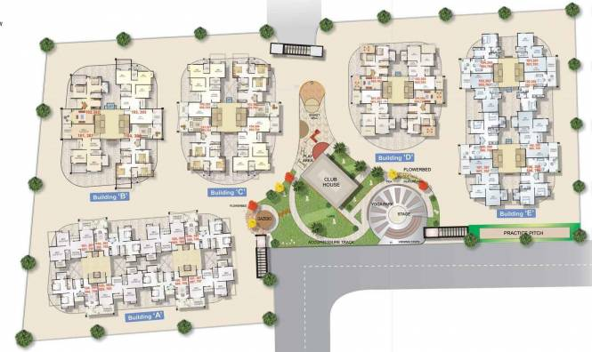 Karda Hari Om Residency Layout Plan