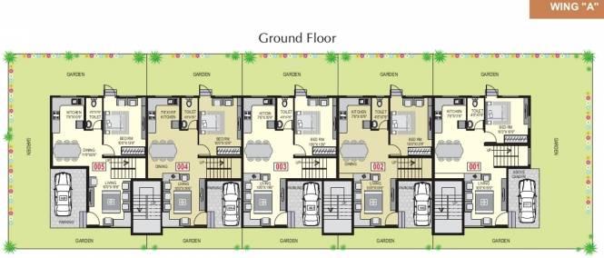 Shree Villa Cluster Plan