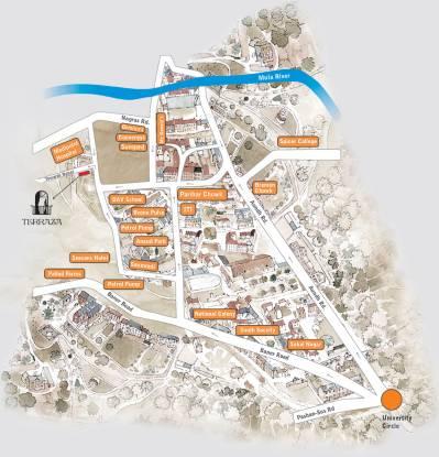Sanskruti Terraza Location Plan
