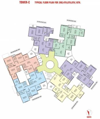 Rachana Gold Coast Cluster Plan