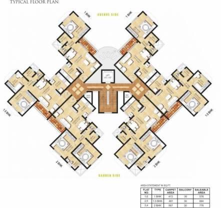Elite Green Acres Cluster Plan