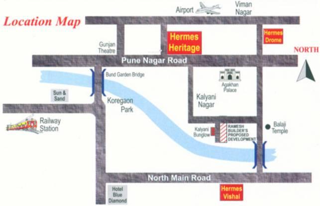 Ramesh Hermes Heritage Phase 2 Location Plan