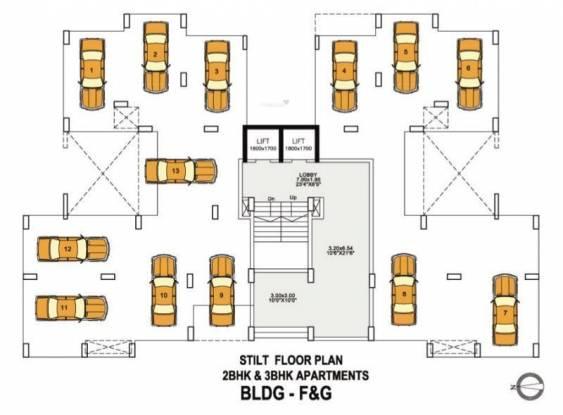 Vascon Vista II Cluster Plan