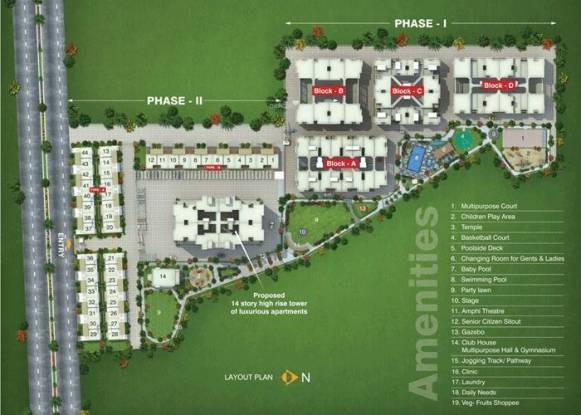 Rachana Sayantara Phase 2 Site Plan