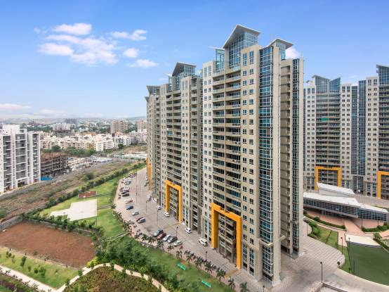 Amanora Aspire Towers Elevation