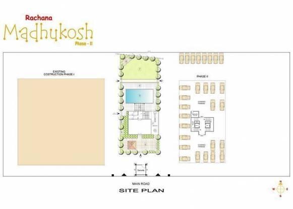 Rachana Rachana Madhukosh Wing C Site Plan