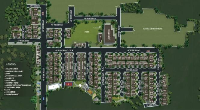 Casagrand Pavilion Layout Plan