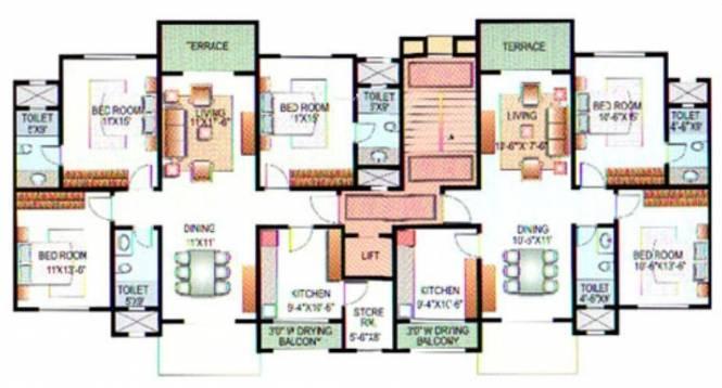 Karia Konark Indrayu Enclave I Cluster Plan