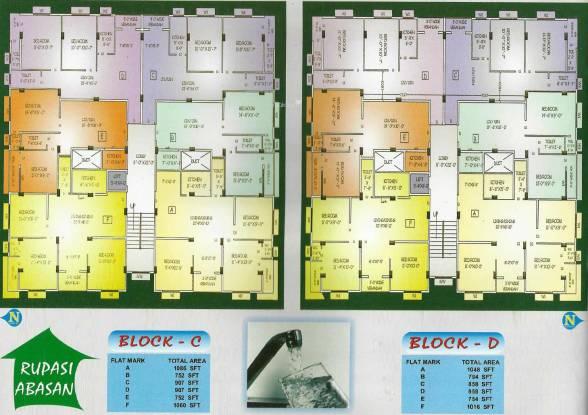 Basu And Hazra Rupasi Abasan Cluster Plan