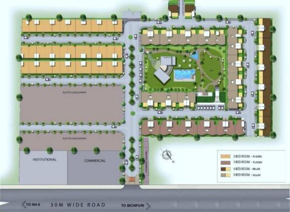 Habitat Dream Terraces Floor Layout Plan