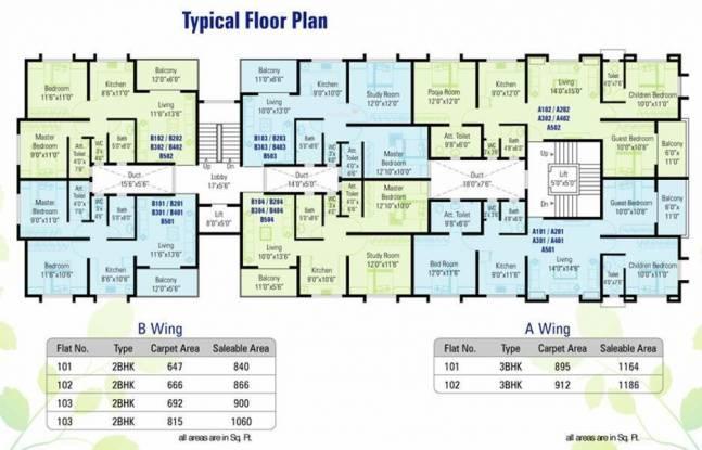 Shivtara Tara Green Cluster Plan