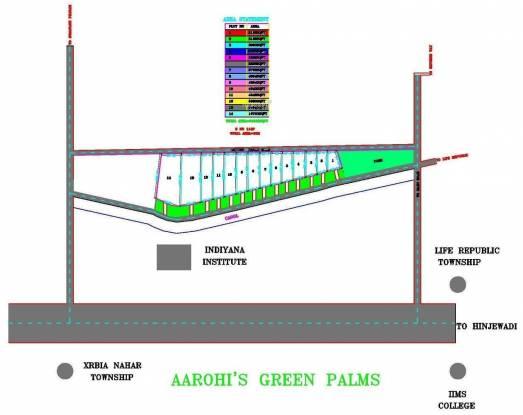 Aarohi Green Palms Layout Plan