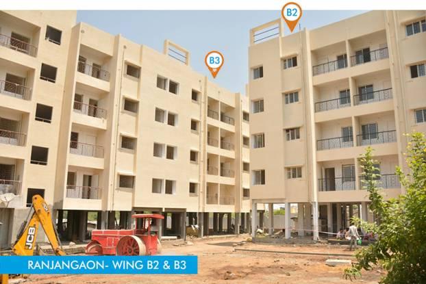Maple Aapla Ghar Ranjangaon Construction Status
