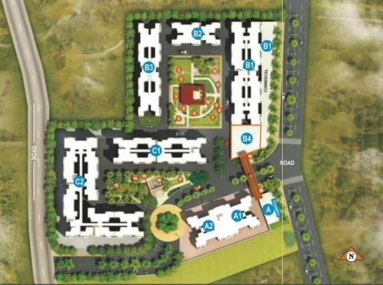 Maple Aapla Ghar Ranjangaon Site Plan