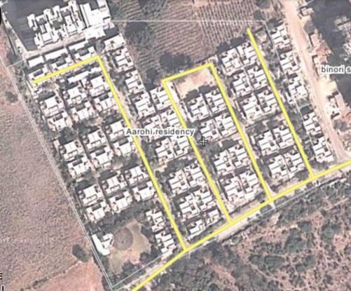 Siddhi Aarohi Residency Layout Plan