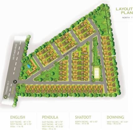 Preeti Mulberry Meadows Site Plan