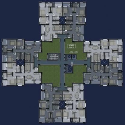Sobha Garrison Cluster Plan