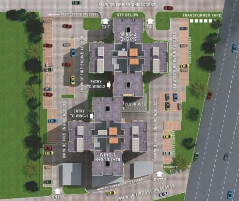 Sobha Garrison Site Plan