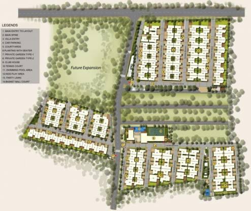 Mantri Courtyard Master Plan