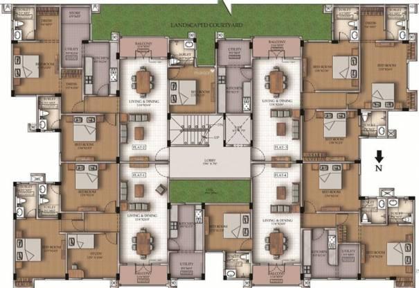 Sumanth Sreshta Fairways Cluster Plan