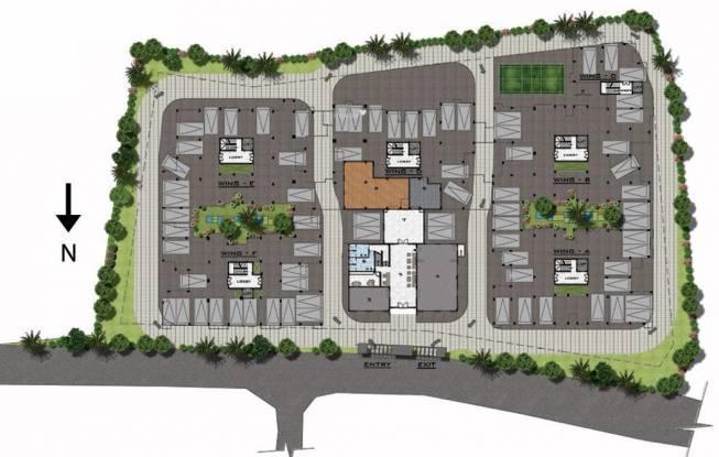 Sumanth Sreshta Fairways Site Plan
