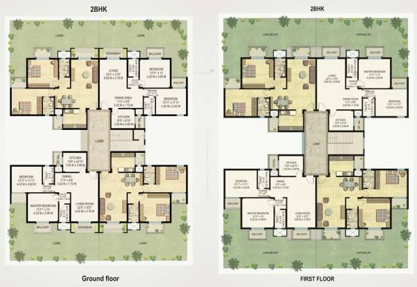Raheja Viva Cluster Plan