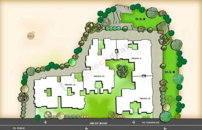 Purva Purva Jade Site Plan
