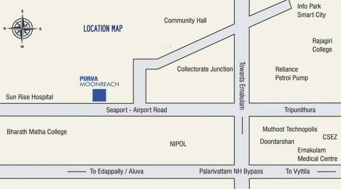 Purva Purva Moonreach Location Plan