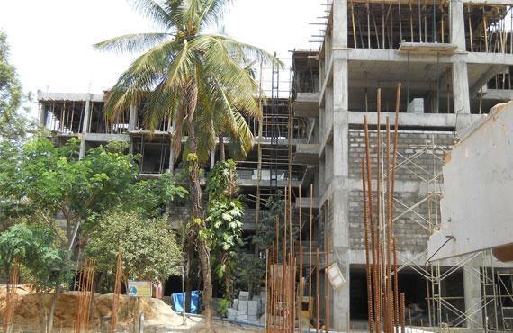 Spectra Raintree Construction Status