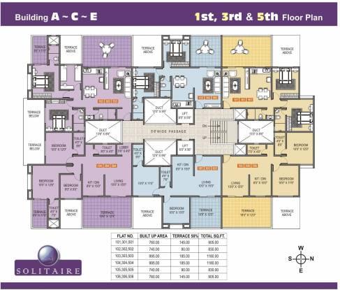 Shree Kalyaanee Krrsna Builders Solitaire Cluster Plan