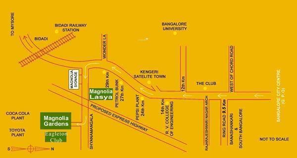 Magnolia Lasya Location Plan