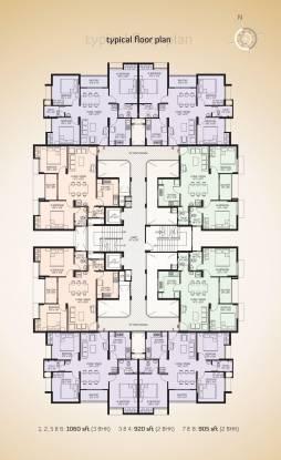 Mohtisham Gallery Cluster Plan