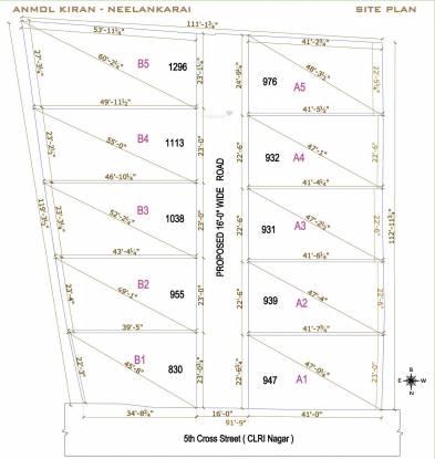Anmol Kiran Site Plan