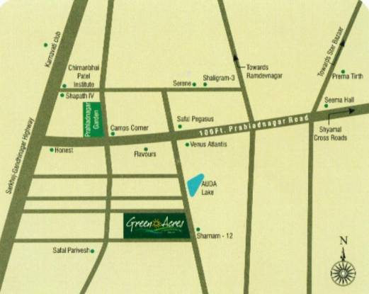 Pacifica Green Acres Location Plan