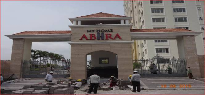 My Home Abhra Construction Status