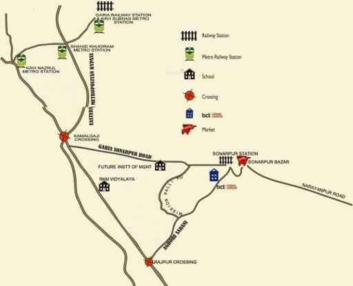 BCT Sonar Sansar Location Plan