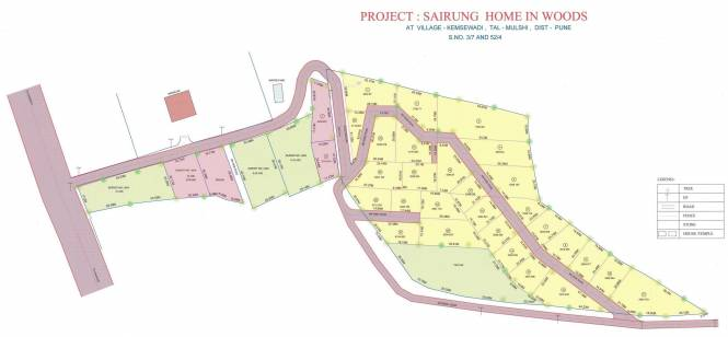 Sairung Home In Woods Layout Plan