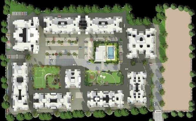 Magnus Manjri Green Woods Site Plan