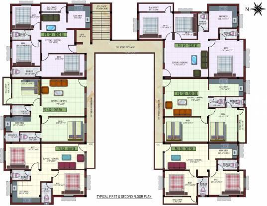 Kaaviya Isha Cluster Plan