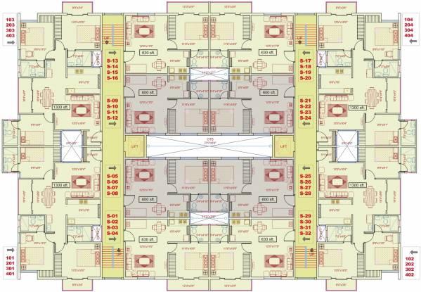 XL Woods Cluster Plan