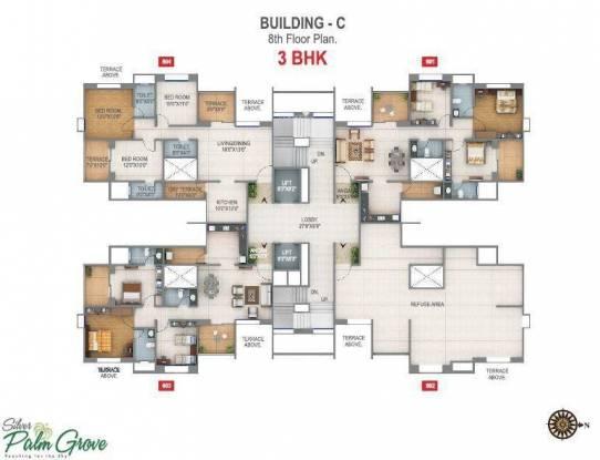 Rohan Silver Palm Grove Cluster Plan