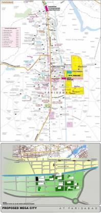 BPTP Park Elite Floors Location Plan