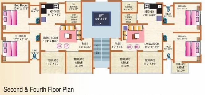 Trimurti Orean Cluster Plan